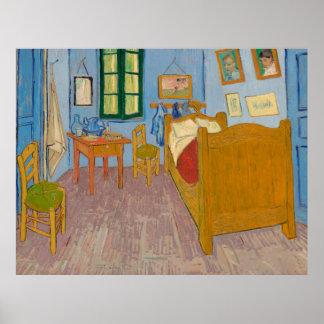 Vincent van Gogh's Bedroom in Arles Replica Print
