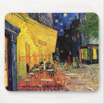 Vincent Van Gogh's 'Cafe Terrace' Mousepad Mouse Pad