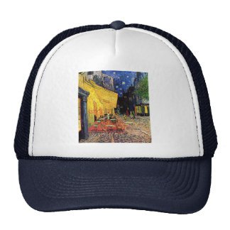 Vincent Van Gogh's 'Cafe Terrace' Trucker Hat