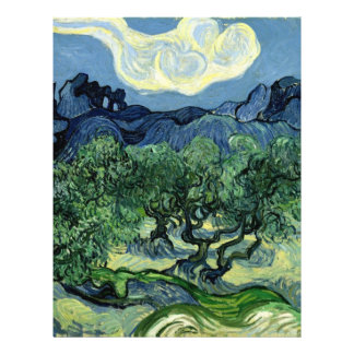 Vincent van Gogh's Olive Trees (1889) Flyers
