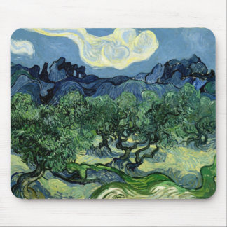 Vincent van Gogh's Olive Trees (1889) Mouse Mat