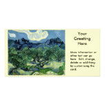 Vincent van Gogh's Olive Trees (1889) Photo Card