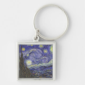 Vincent Van Gogh's 'Starry Night' Keychain