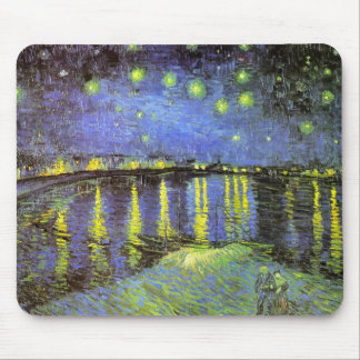 Vincent van Gogh's Starry Night Over the Rhone Mouse Mat