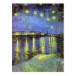 Vincent van Gogh's Starry Night Over the Rhone Post Card