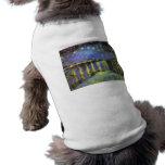 Vincent van Gogh's Starry Night Over the Rhone Sleeveless Dog Shirt