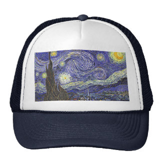 Vincent Van Gogh's 'Starry Night' Trucker Hat