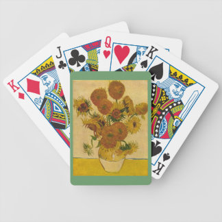 Vincent van Gogh's Sunflowers, 1878 Bicycle Playing Cards