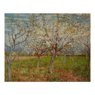 "Vincent van Gogh's ""The Pink Orchard"" (1888) Poster"