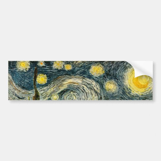 Vincent van Gogh's The Starry Night (1889)