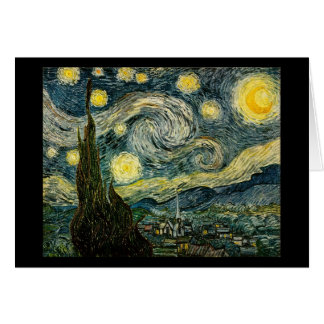 Vincent van Gogh's The Starry Night (1889) Greeting Card