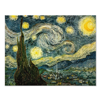 Vincent van Gogh's The Starry Night (1889) Announcement