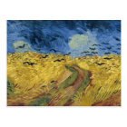 Vincent van Gogh's Wheat Field with Crows (1890) Postcard
