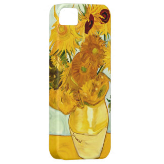 Vincent Van Gogh's Yellow Sunflower Painting 1888 iPhone 5 Case