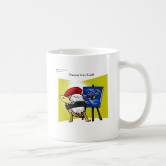 Vincent Van Sushi Gifts Mugs Tees Cards Etc