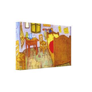 Vincent Willem van Gogh - Bedroom at Arles Canvas Print
