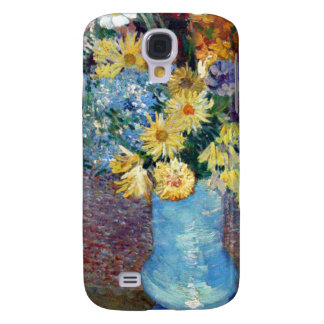 Vincent Willem van Gogh - Flowers in a blue vase Galaxy S4 Cover
