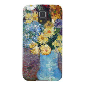 Vincent Willem van Gogh - Flowers in a blue vase Case For Galaxy S5