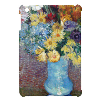 Vincent Willem van Gogh - Flowers in a blue vase Cover For The iPad Mini