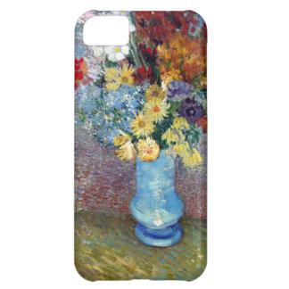 Vincent Willem van Gogh - Flowers in a blue vase iPhone 5C Case