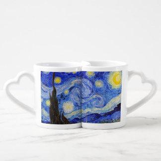 "Vincent Willem van Gogh, ""Starry Night"" Coffee Mug Set"