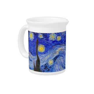 "Vincent Willem van Gogh, ""Starry Night"" Drink Pitcher"