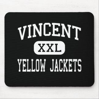 Vincent - Yellow Jackets - Middle - Vincent Mouse Pad