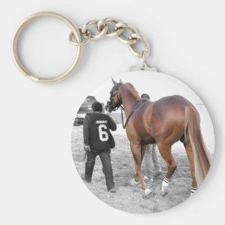Vincento Basic Round Button Key Ring