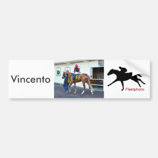 Vincento Bumper Sticker