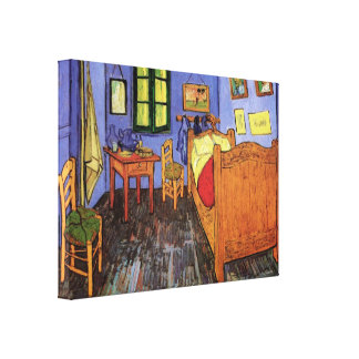 Vincent's Bedroom in Arles by Vincent van Gogh Gallery Wrapped Canvas