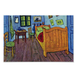 Vincent'S Bedroom In Arles By Vincent Van Gogh Print