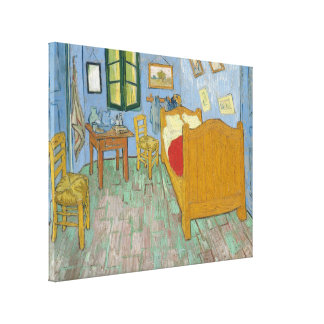 Vincent's Bedroom in Arles Stretched Canvas Print