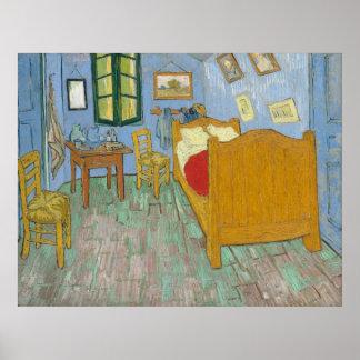 Vincent's Bedroom in Arles Poster