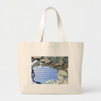 Vine and Branches Jumbo Tote Bag