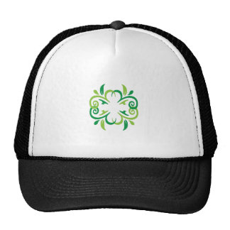 VINE DESIGN HATS