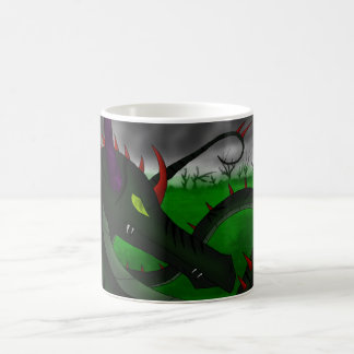 Vine Dragon White Mug