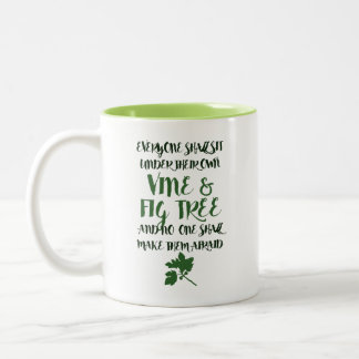 Vine & Fig Tree Mug