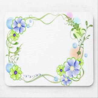 Vine Floral Mouse Pad