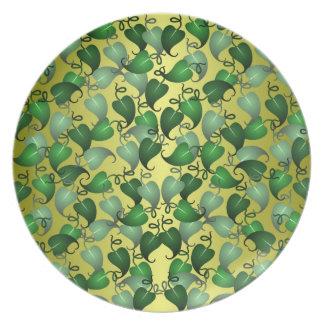 Vine Leaf Plate