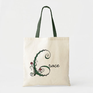 'Vine Letter G' Bag