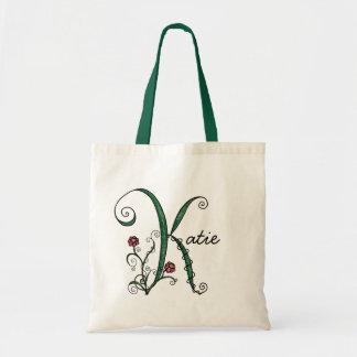 'Vine Letter K' Bag