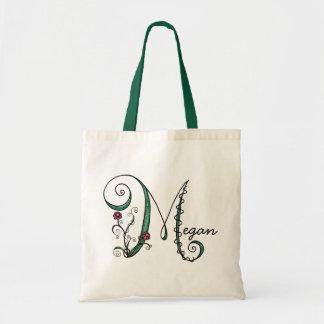 'Vine Letter M' Bag