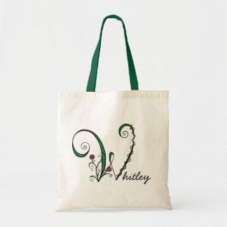 'Vine Letter W' Bag