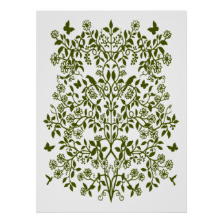 Vine of Life Floral Print
