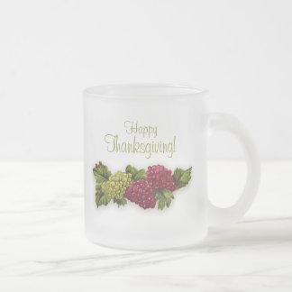 Vine With Grapes Thanksgiving mug
