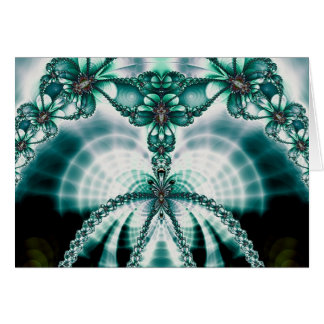 vined butterfly gate greeting cards