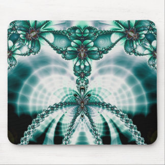 vined butterfly gate mouse pad