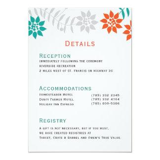 Vines 5x7 Wedding Invitations