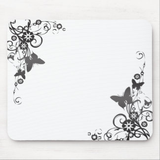 Vines and Butterflies Mouse Pad
