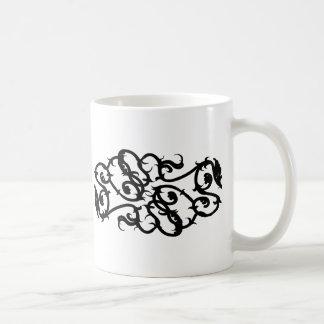 Vines Basic White Mug